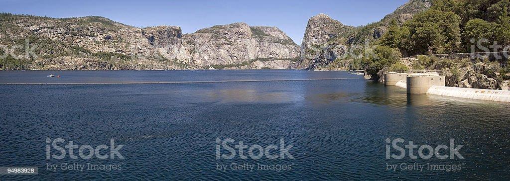 Hetch Hetchy Valley, Yosemite stock photo