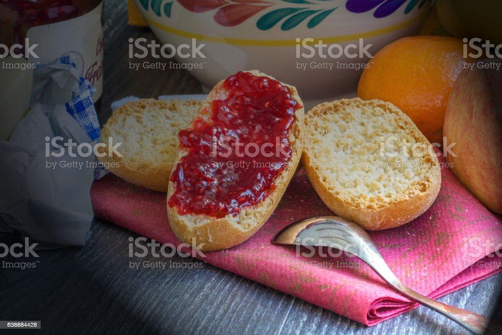 L'heure du petit déjeuner stock photo