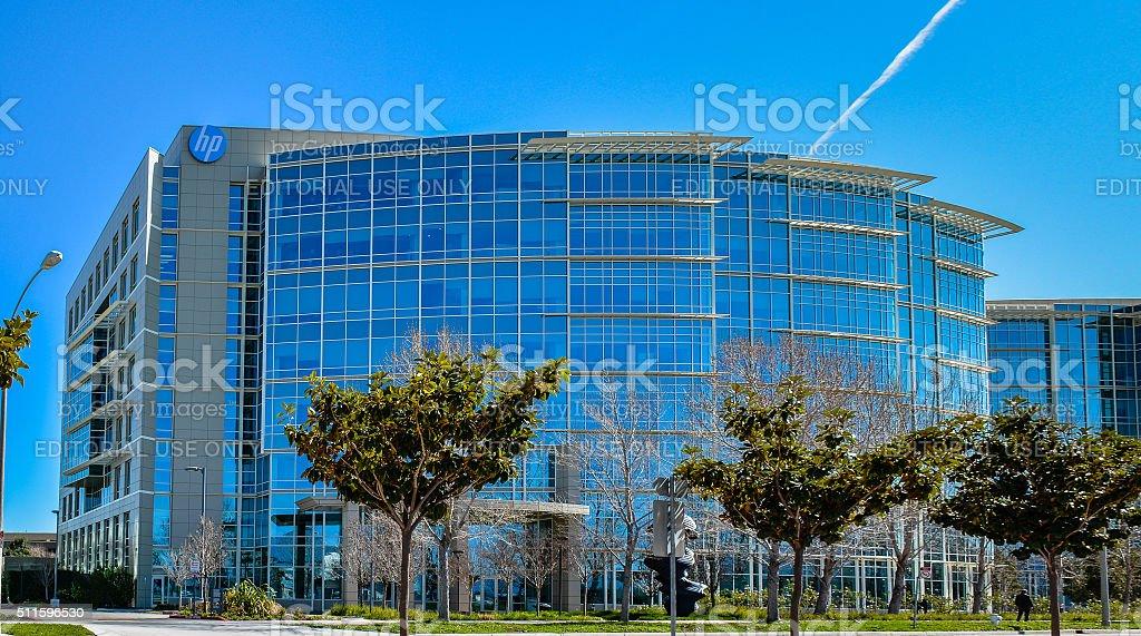 Hewlett Packard Enterprise, Sunnyvale, CA stock photo