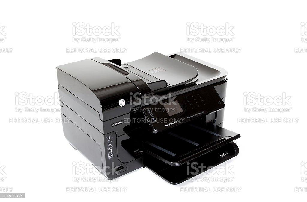 Hewlett Packard Officejet 6500A Plus stock photo