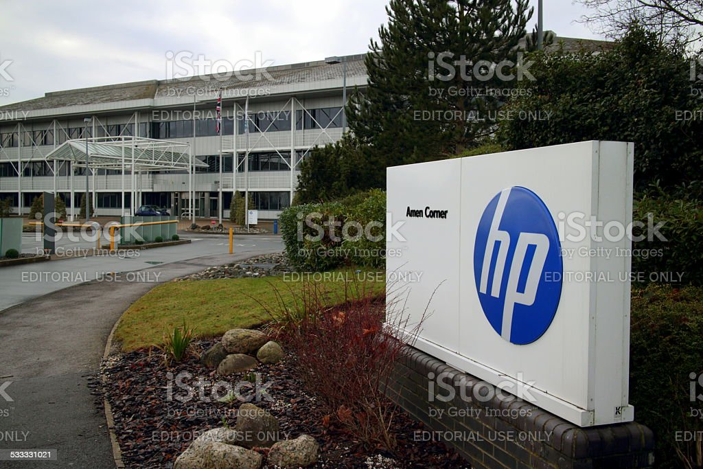 Hewlett Packard stock photo