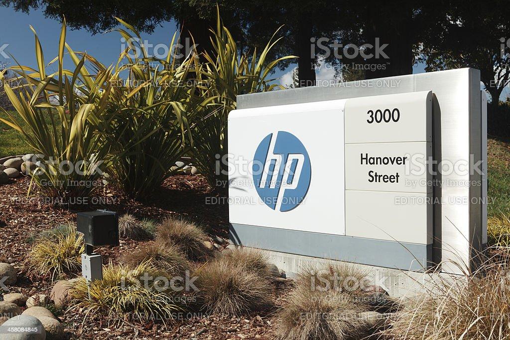 'Hewlett-Packard Headquarters at 3000 Hanover Street, Palo Alto,' stock photo