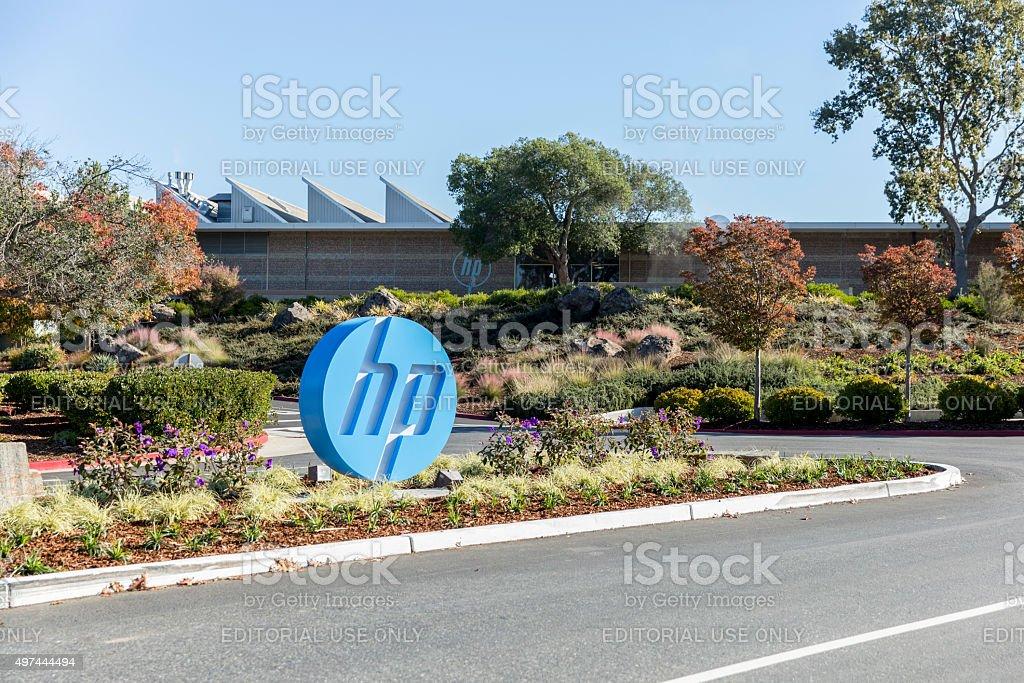 Hewlett-Packard stock photo