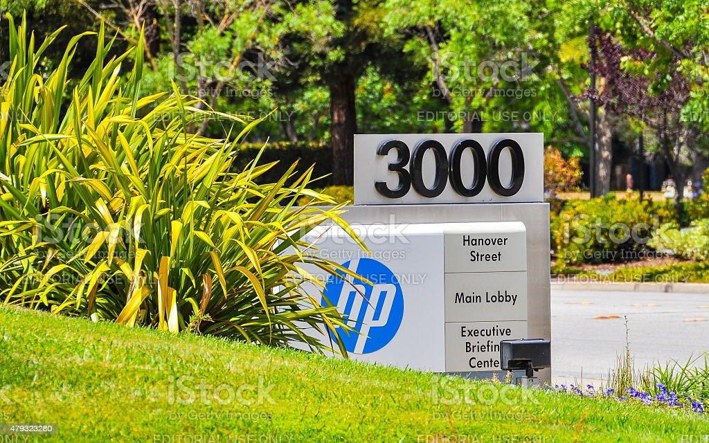 Hewlettt-Packard Corporation stock photo