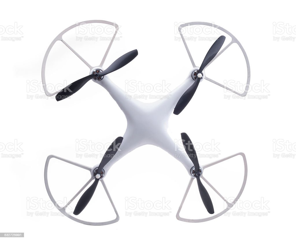 Hexacopter drone stock photo