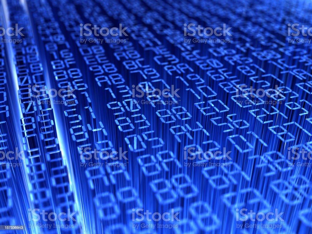 hexadecimal code stock photo