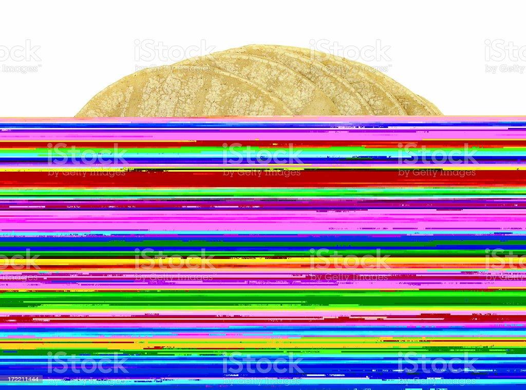 Hexadecimal code(virus) stock photo