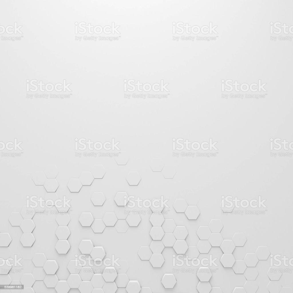 Hexagon abstract background stock photo