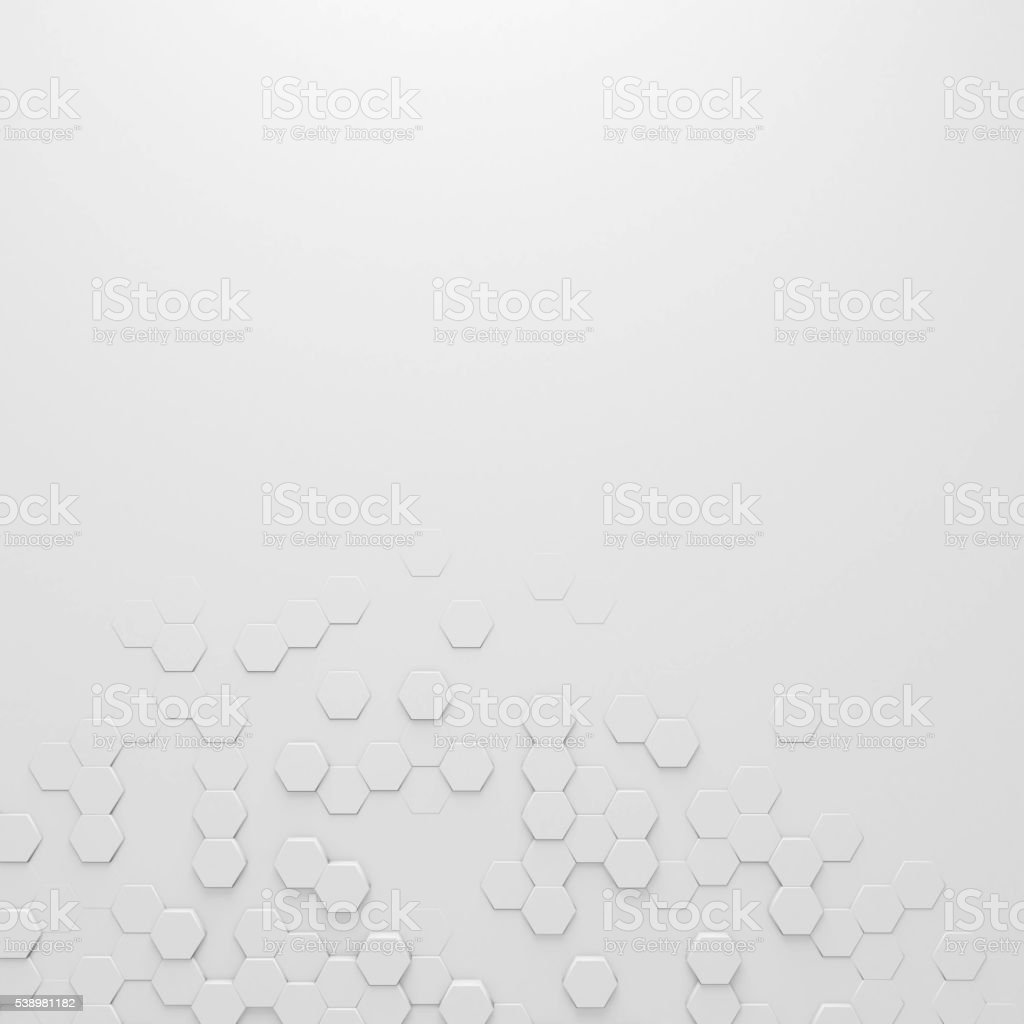 Hexagon abstract background stock photo
