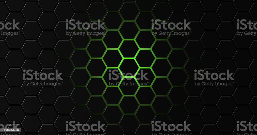Hexagon geomatric 8k background stock photo