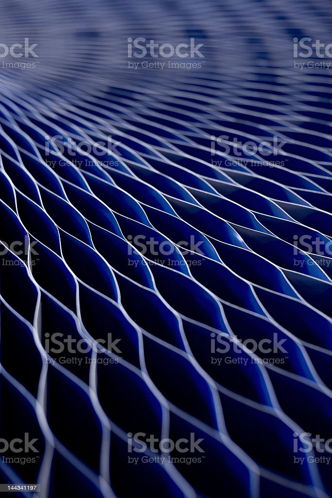 Hexagon royalty-free stock photo