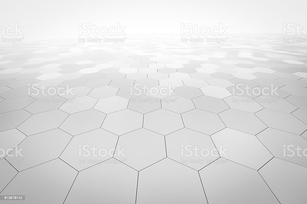 hexagonal abstract background royalty-free stock photo