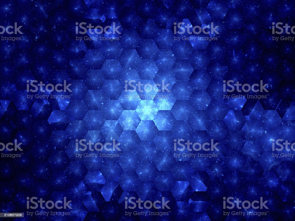 Hexagonal grid nanotechnology royalty-free stock vector art