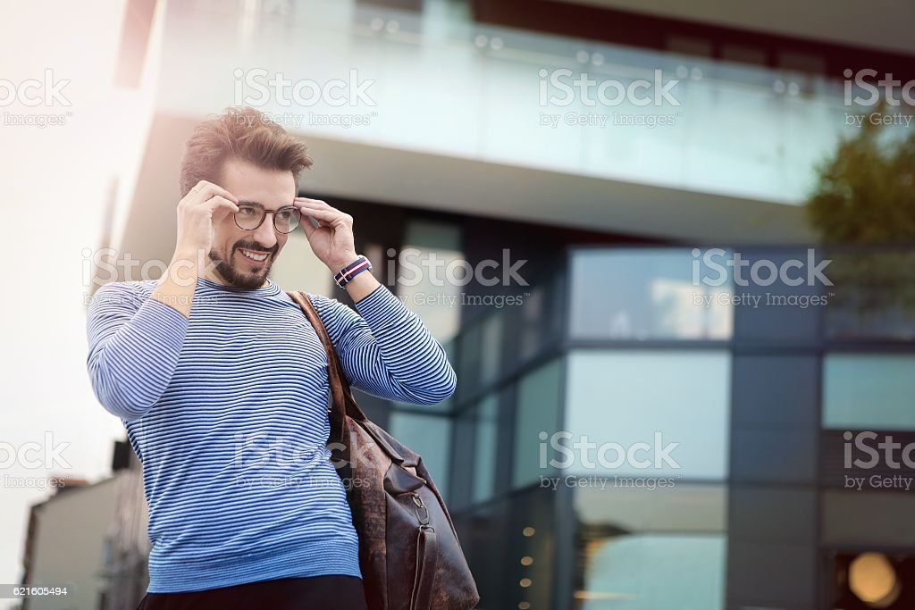 Hey, i see you ! stock photo
