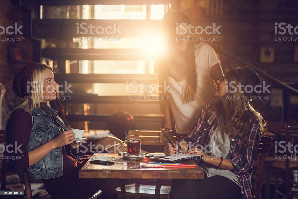Hey, I thought it was you! stock photo