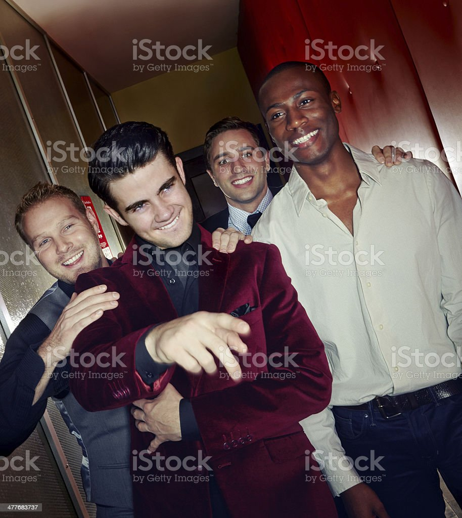 Hey party people!! stock photo