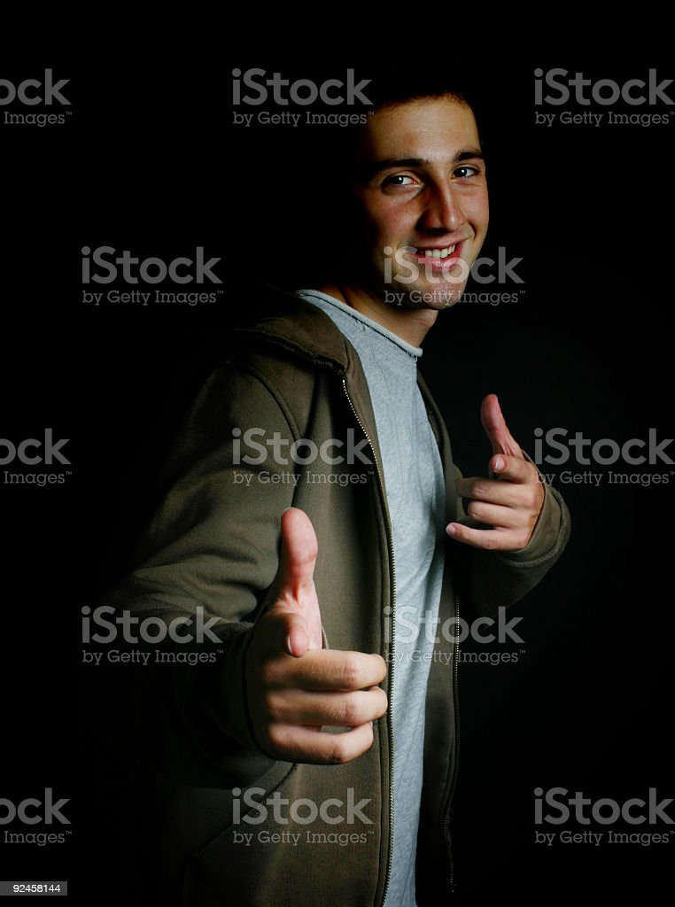 Hey You ! royalty-free stock photo