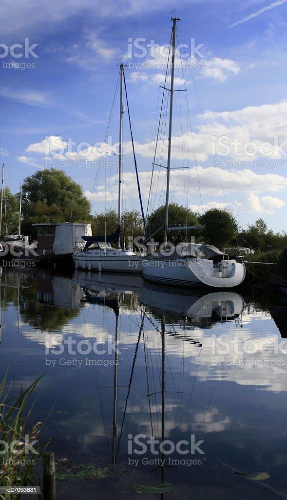 Heybridge Basin stock photo