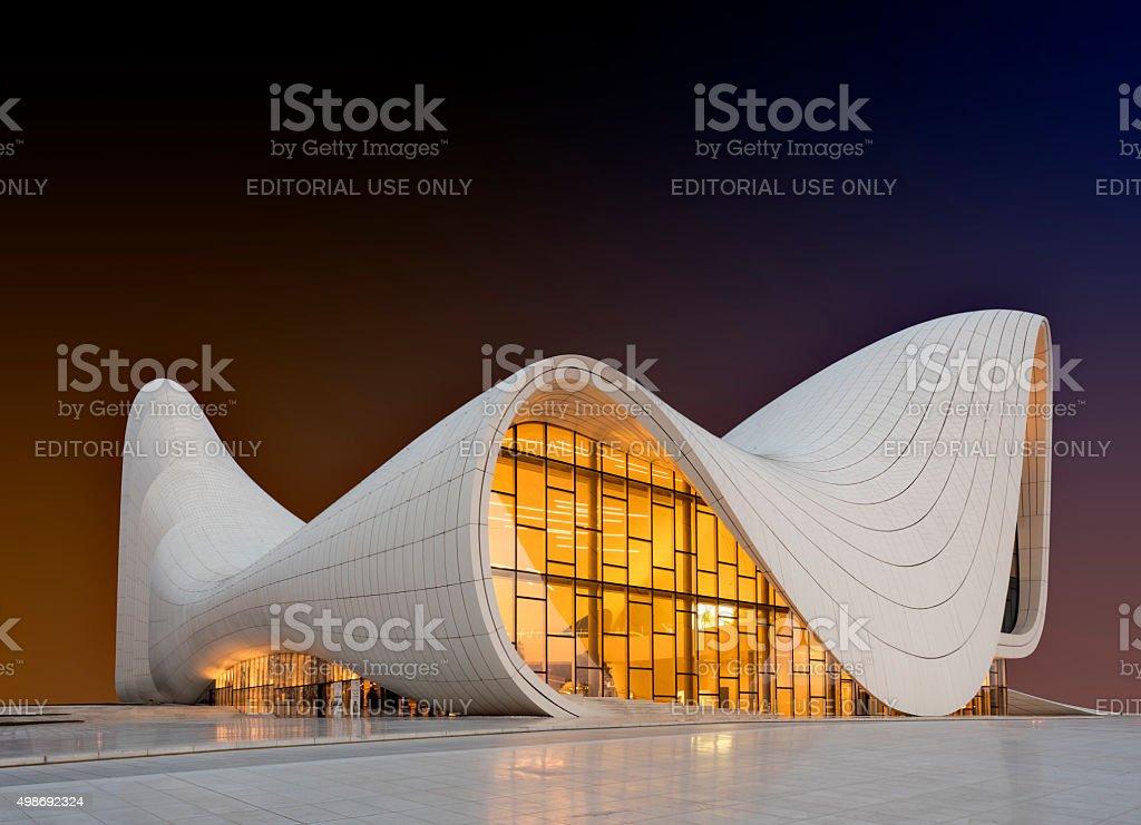 Heydar Aliyev Center stock photo