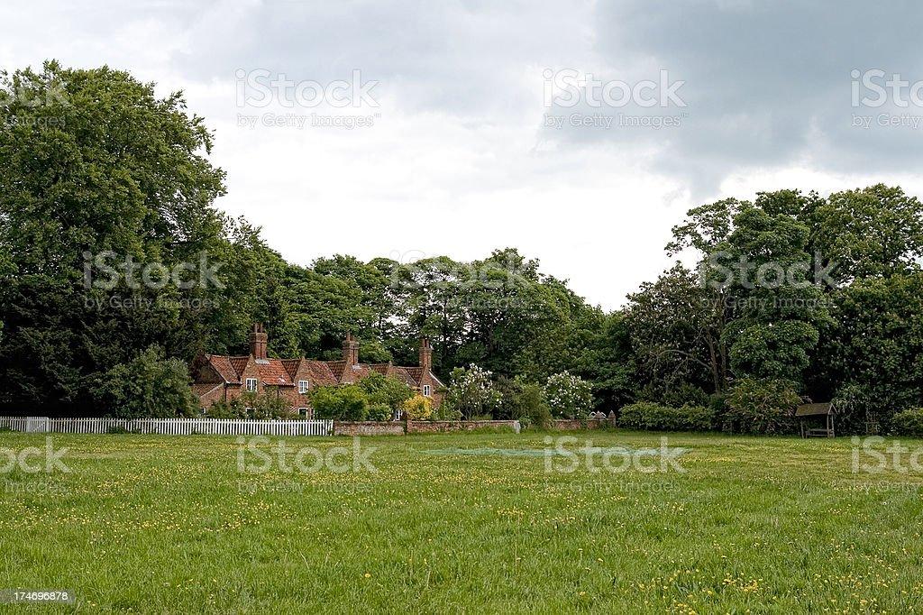 Heydon village green royalty-free stock photo
