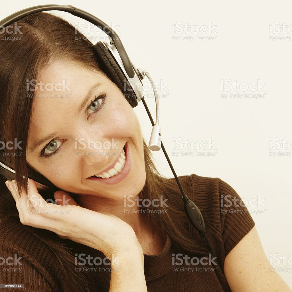 Hi, and welcome to... royalty-free stock photo