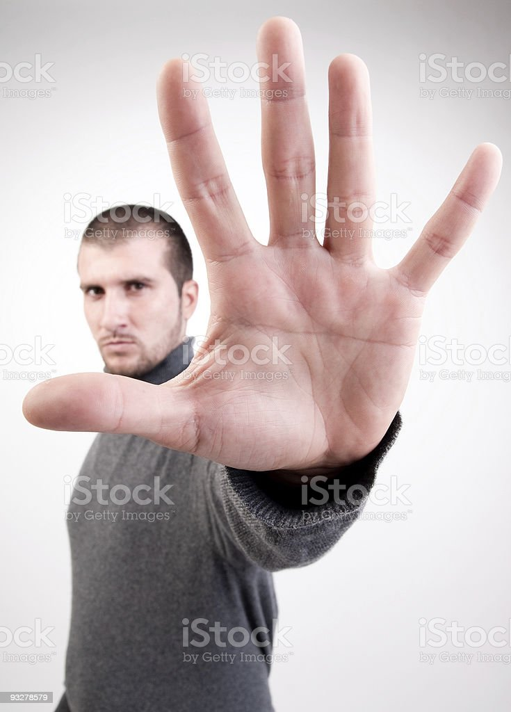 Hi five! stock photo