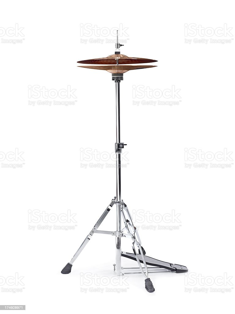 Hi Hat Cymbal stock photo