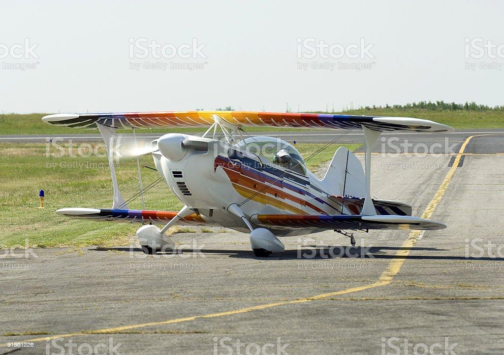 Hi Performance Sport Aircraft stock photo