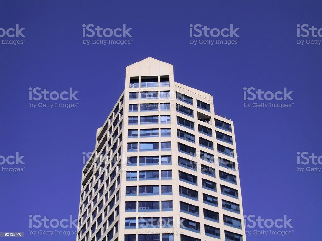 Hi Rise Sky royalty-free stock photo