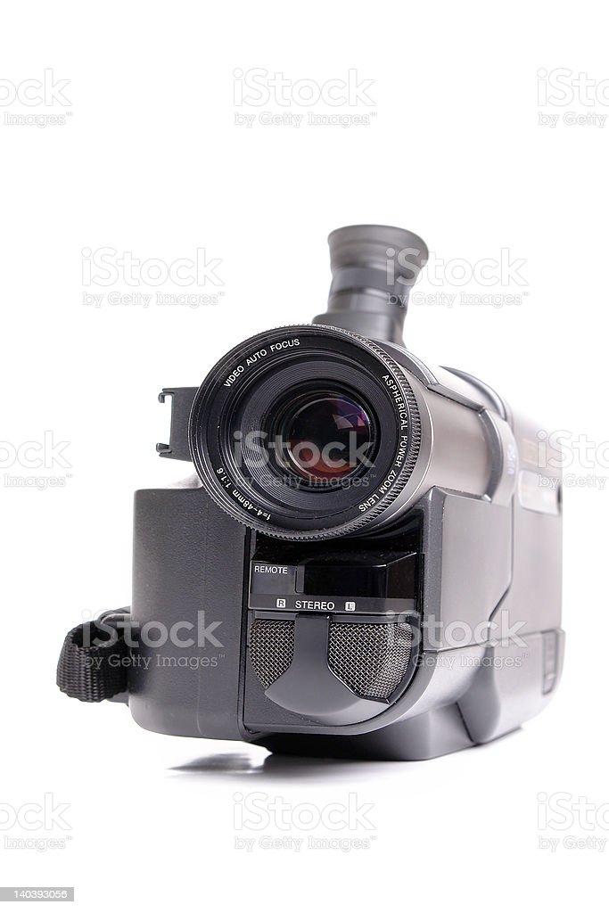 Hi8 analog camcorder stock photo