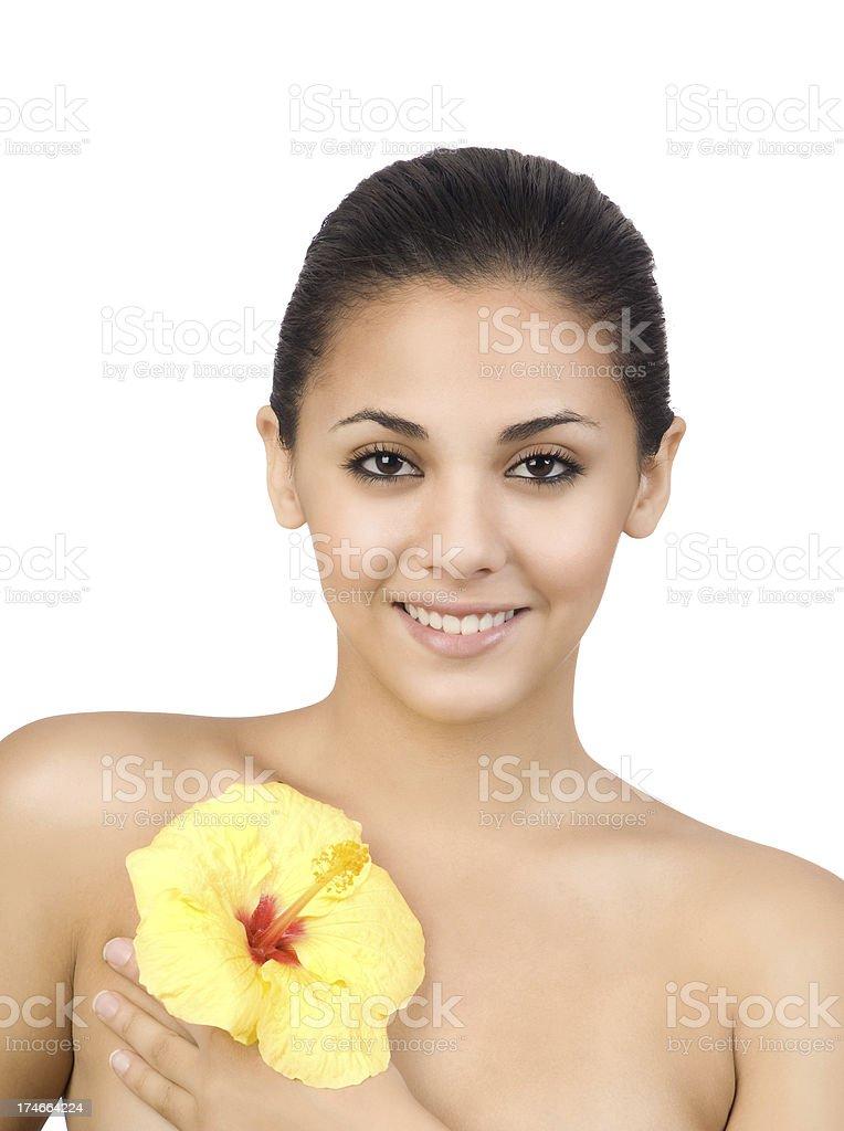 Hibiscus Beauty royalty-free stock photo