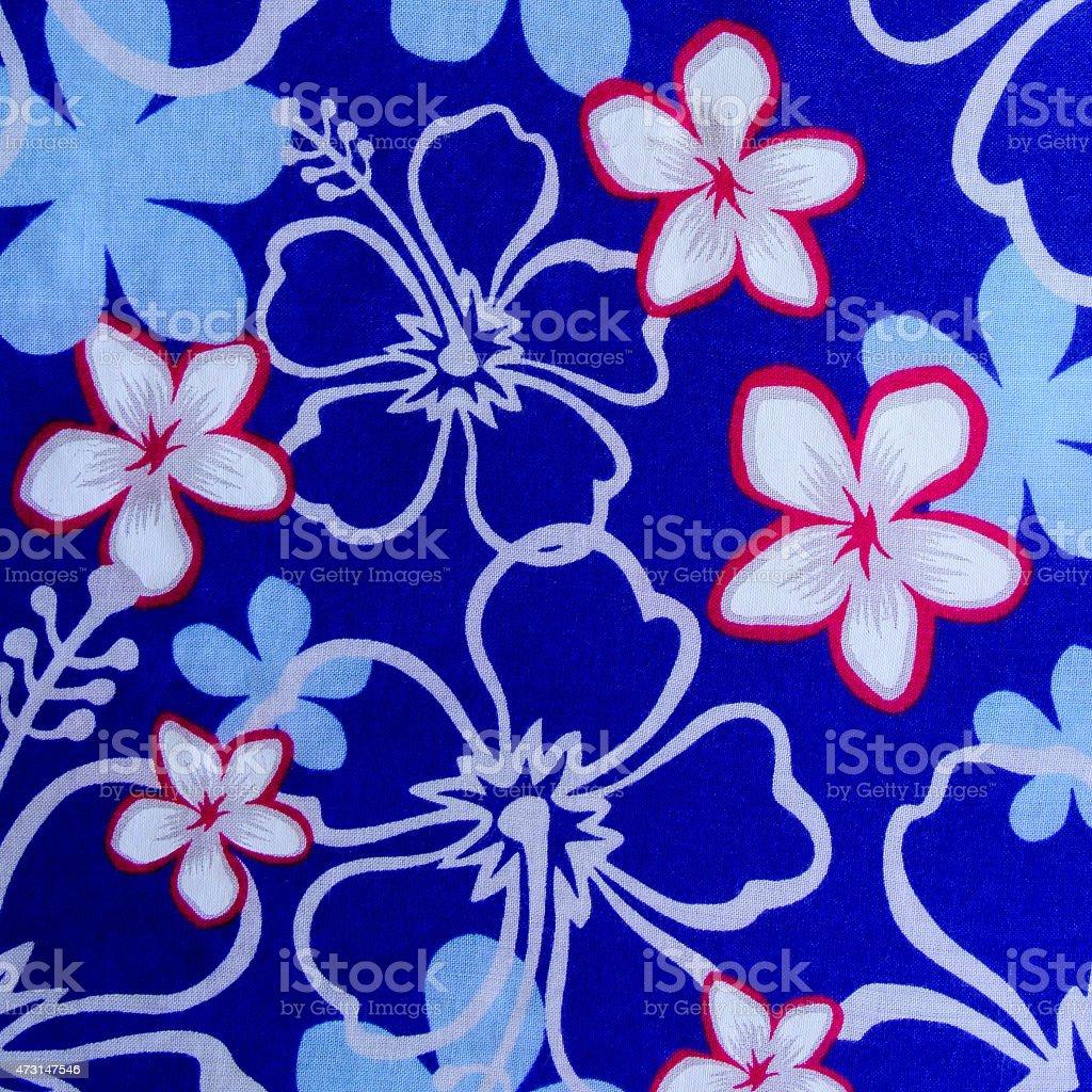 hibiscus flower background . Hawaiian patterns stock photo