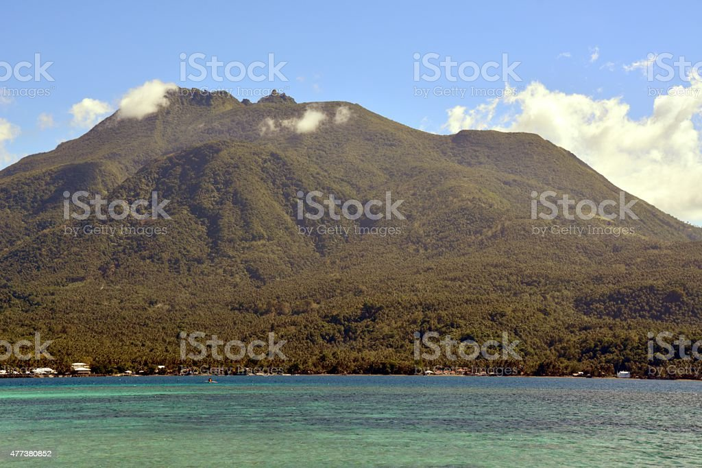 Hibok-Hibok Volcano, Camiguin Island - Philippines stock photo