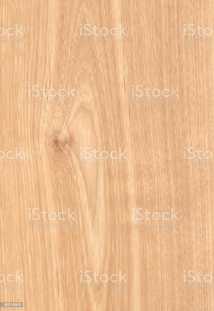 Hickory - Wood Texture Series stock photo
