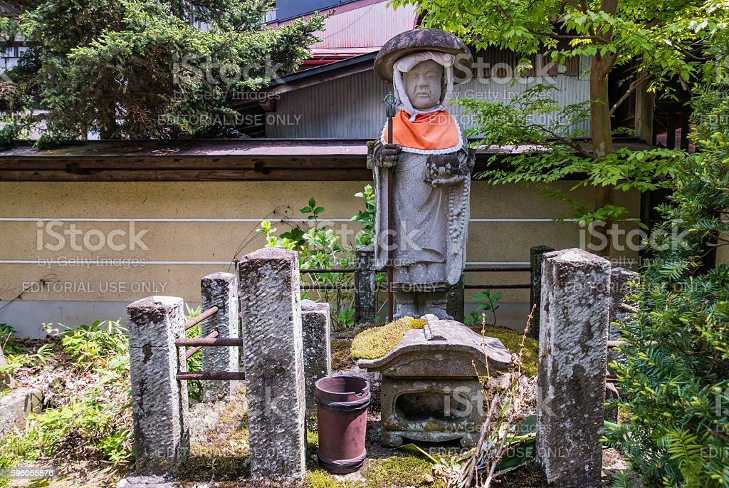 Hida Kokubunji Temple, Takayama, Japan stock photo