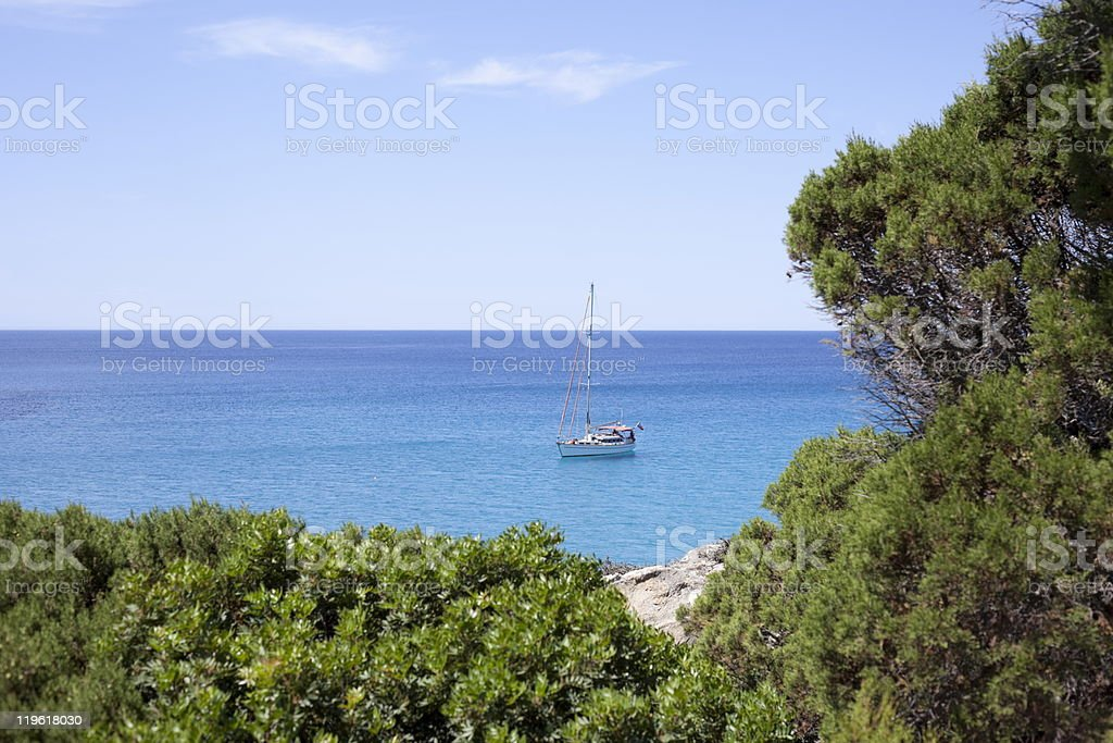 Hidden Beach royalty-free stock photo