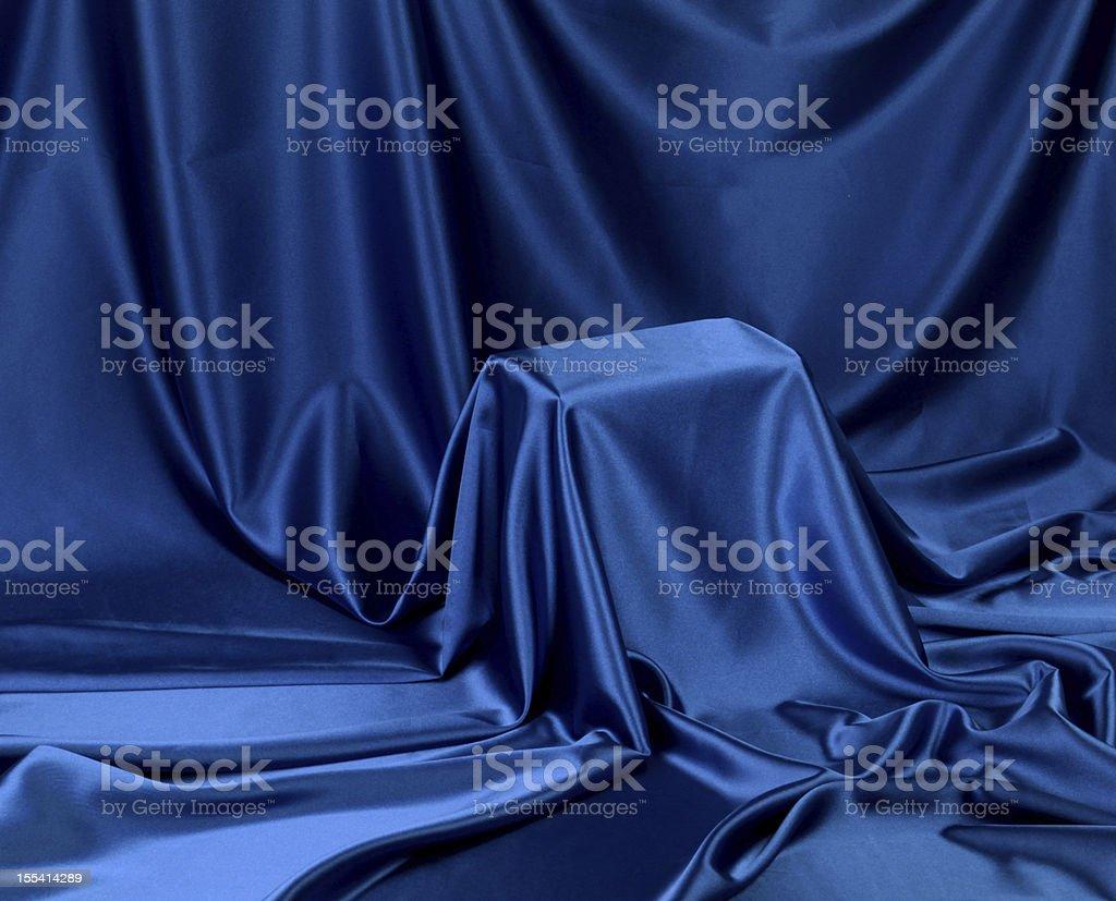 Hidden blue secret royalty-free stock photo