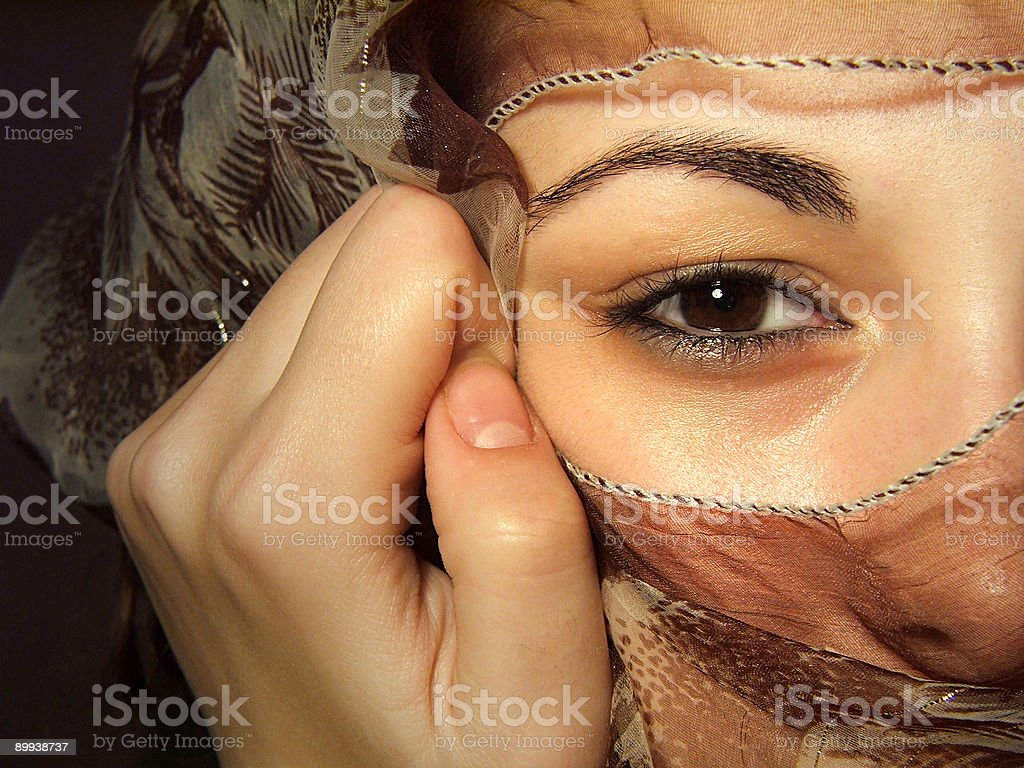 Hidden Face royalty-free stock photo