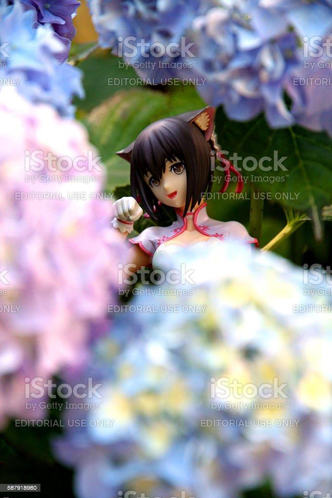 Hidden Flower stock photo