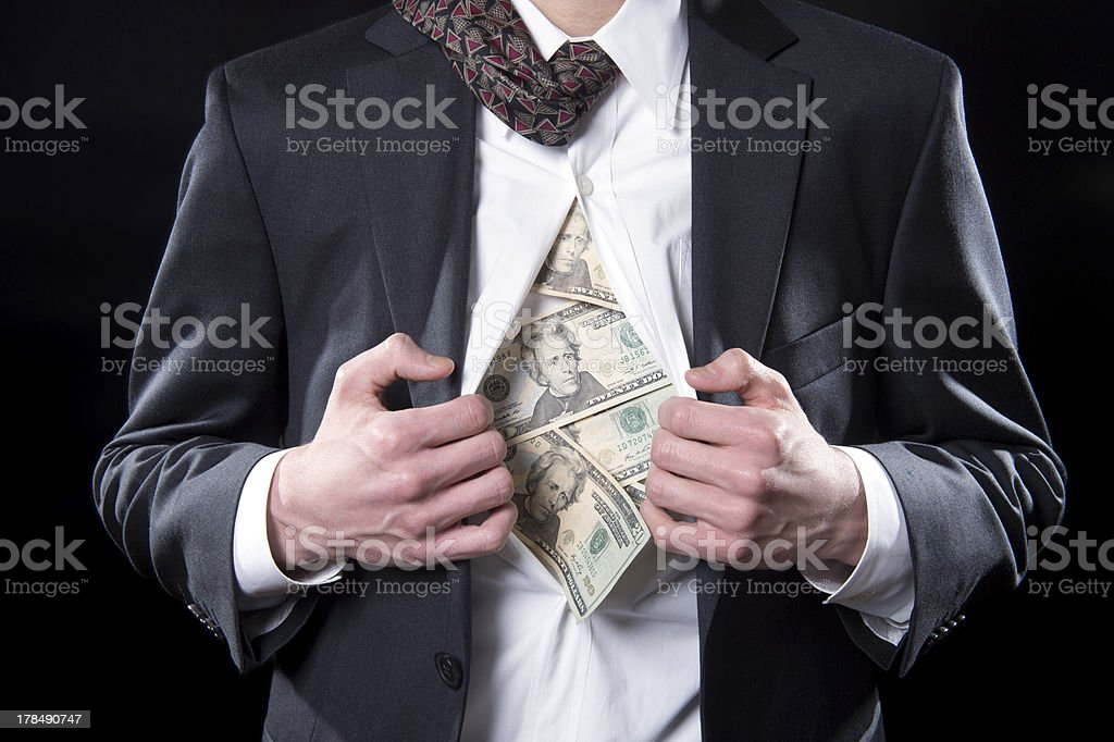 Hidden Funds royalty-free stock photo