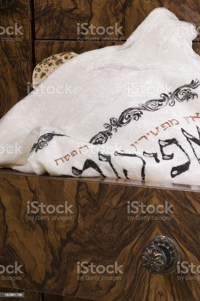 Hidden matza royalty-free stock photo