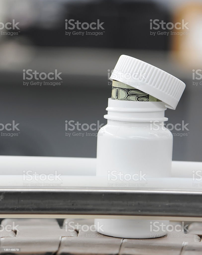 Hidden Medical Costs royalty-free stock photo