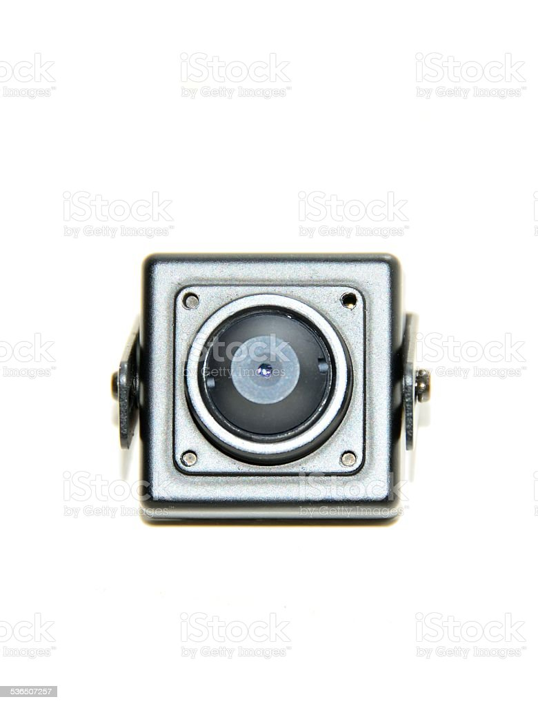 Hidden Micro Surveillance Camera stock photo