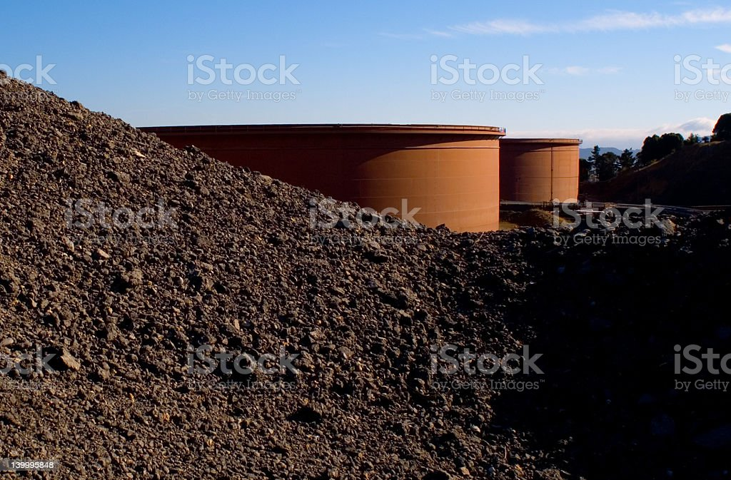 Hidden Oil royalty-free stock photo