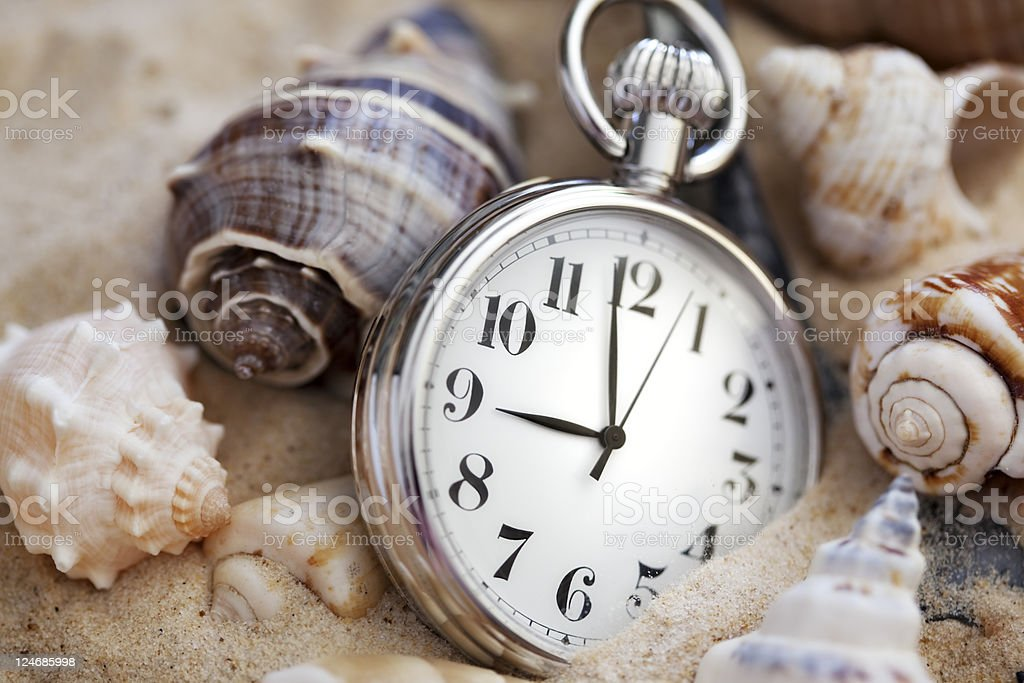 Hidden time royalty-free stock photo