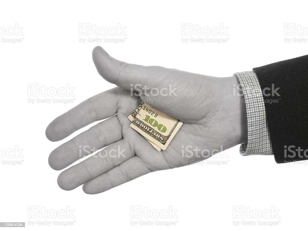 Hidden tip royalty-free stock photo