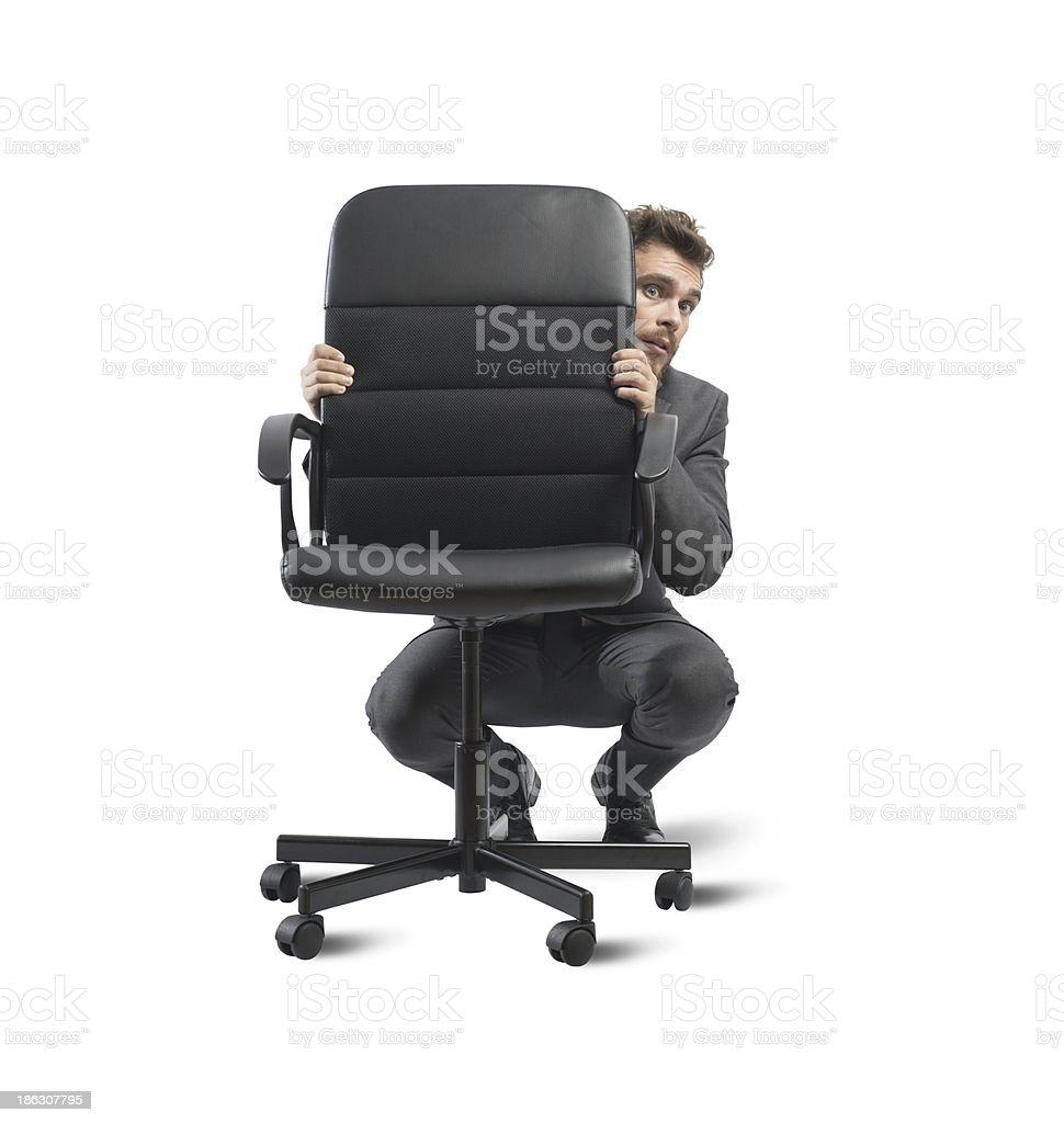 Hide from the crisis royalty-free stock photo