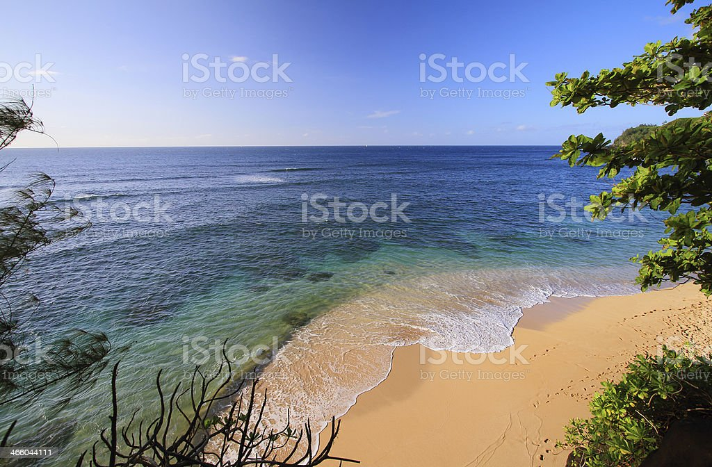 Hideways beach stock photo