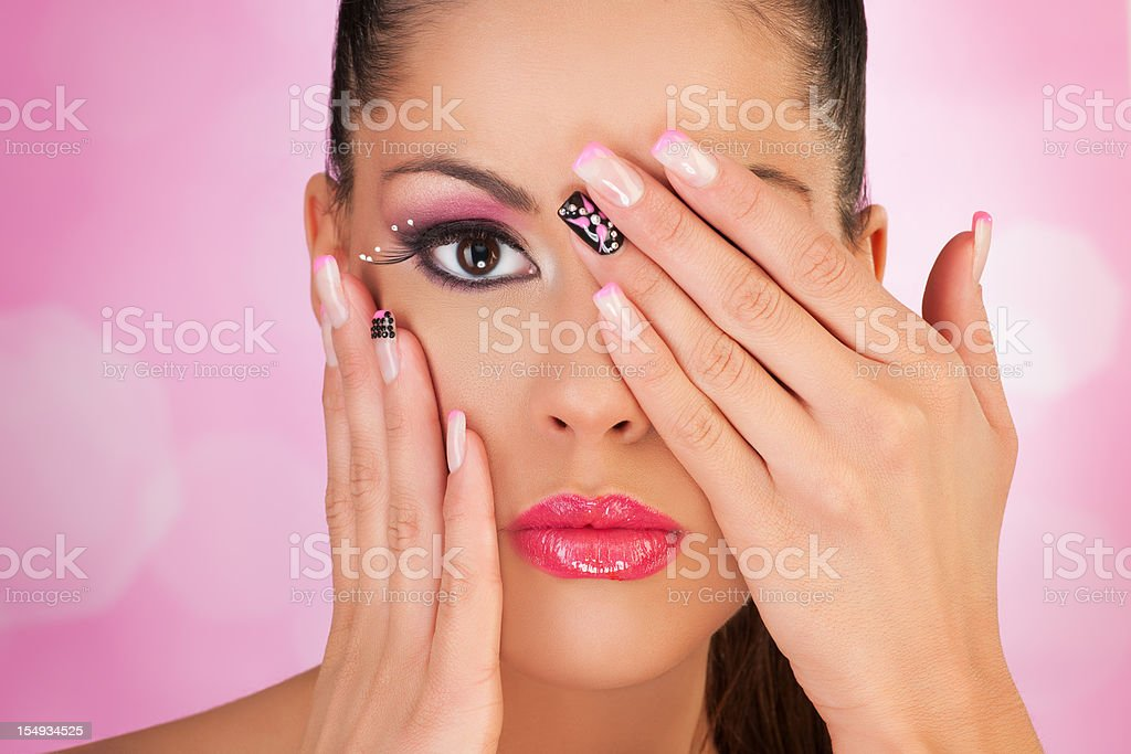 Hiding and Showing stock photo