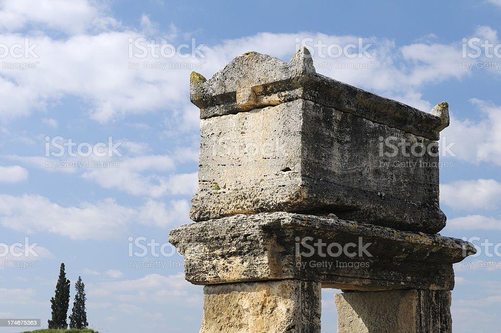 Hierapolis, Denizli, Turkey stock photo